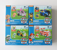 Paw Patrol Transforming Rescue Vehicles & Figures Marshall Skye Chase Rocky