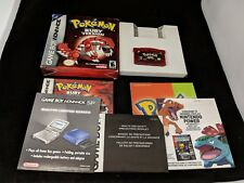 Pokemon Ruby Version Nintendo Game Boy Advance GBA Complete in Box CIB Authentic