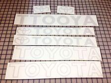 Toyota Forklift Detailer Decal Kit (ORIGINAL GRAY)