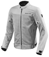Giacca moto Rev'it Revit Eclipse grigio silver jacket traforata mesh perforated