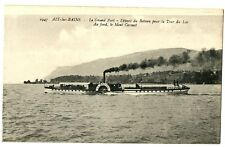 CPA 73 Savoie Aix-les-Bains Lac du Bourget Le Grand Port bateau
