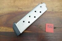 Colt 1911 1911A1 Magazine J&J Pad Bottom Stainless Capacity 8