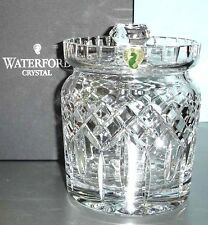 Waterford LISMORE Biscuit Barrel Crystal Cookie Canister Jar with Lid NEW
