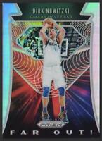 2019-20 Panini Prizm Far Out! Prizms SILVER #14 Dirk Nowitzki Dallas Mavericks