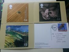 Great Britain 1999 Farmers Tales PHQ cards plus stamps