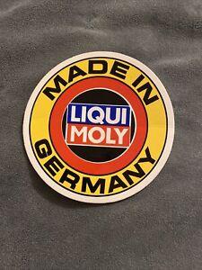 LIQUI MOLY RACING MOTORSPORTS Vinyl Sticker Decal