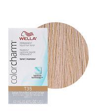 Wella Color Charm Permament Liquid Hair Color Toner 42mL Beige Blonde T35