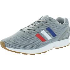 Adidas Originals Para Hombre Gris Running Zapatos TENIS ZX Flux 8 mediano (D) 6794 BHFO
