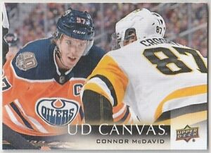 UD CONNOR McDAVID SINGLES LIST *YOU SELECT* (2nd YEAR & MORE, COMBINED SHIPPING)