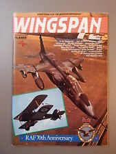 R&L Mag: Wingspan April 1988 British Air Training Plan/Bristol Blenheim/RAF