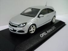 GENUINE Vauxhall Astra H 3 Door (Silver) 1:43 Model Car By Minichamps - 9163173