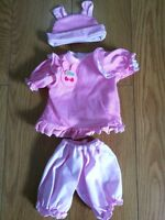 """Sweet Reborn Doll Clothing Suit 1 Set For 17-18"""" Newborn Doll Girl Boy Clothes@@"""