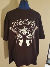 Smith & Wesson We The People Revolver T-Shirt Mens 2XL