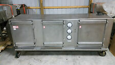 "Stainless Steel Industrial Dust Collector 480 Volt 104""x35""x68"" Removed Working"