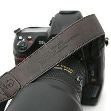 MATIN Camera Leather Neck Shoulder Strap Vintage-38 Gray for D-SLR RF Mirrorless