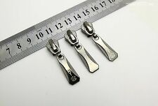 New Metal Zipper Slider Pullers #5 Molded for clothing  repair replace K09
