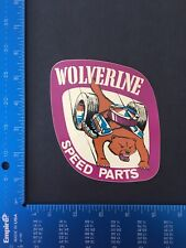 New ListingVintage Wolverine Speed Parts racing sticker decal Nhra hot rod toolbox race