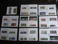 AUSTRALIA 34 different U sets with modern in sales cards! PLZ read description