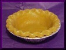"""5"""" Wax Pie Crust, Full Crust w/tin Set of 3 Crusts"""