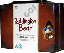 Paddington Bear Suitcase Complete Collection 56 Episodes Edition DVD New Sealed