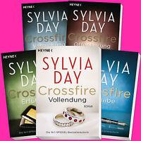 SYLVIA DAY | Crossfire 1+2+3+4+5 | Versuchung+Erfüllung+Hingabe+Vollendung(Buch)