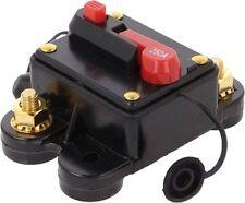 Interruptor de circuito profesional 80 Amp Fusible 12v-48v automático trip out Amplificadores Etc