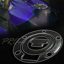 Gas Tank Fuel Cap Cover Protector Pad for Yamaha YZF R1/R6/FZ Carbon Fiber Look