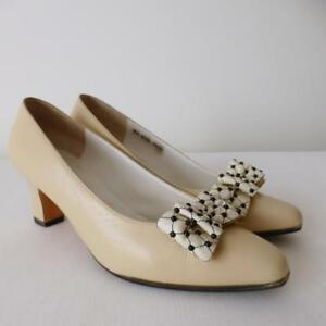 BRUNO MAGLI Women's Vintage Shoes Size 7B Pumps Made in Italy New Heels & Soles
