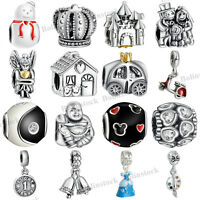 925 European Sterling Charms Silver Dangle Bead for Bracelet Chain Necklace au