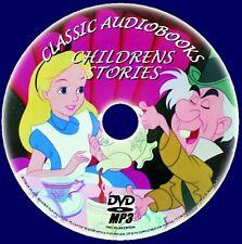 clásico infantil HISTORIAS, 80 + GREAT MP3 Audiolibros DVD ROM MAGO OZ etc