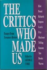 The Critics Who Made Us: Essays from Sewanee Review