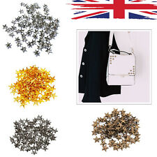 Hot Fix Studs Brass Nailhead Beads Gold Spikes DIY Leather Bags Shoes Belt Craft