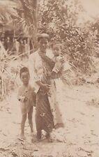 SINGAPORE - Malay Woman - Photo Postcard 2