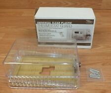 White Rodgers (7702) Universal Clear Plastic Thermostat Guard / Cover / Case