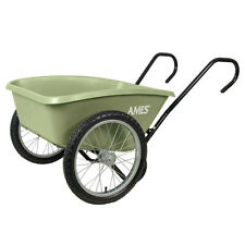 Ames 5 cu. ft. Garden Cart Utility Yard Lawn Load Dump Large Wheels Wheelbarrow