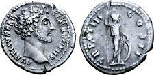 Marcus Aurelius, as Caesar, AR Denarius.