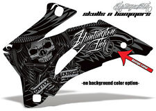 AMR RACING DEKOR KIT ATV SUZUKI KING QUAD LTA 450/500/700/750 SKULLS N HAMMERS B