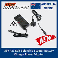 42V Battery Charger Adapter For 2 Wheel Balance Self Electric Scooter AU STOCK