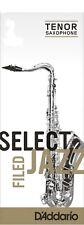 Rico Jazz Select Tenor Sax Saxophone Reeds - Single Reed - Various Strengths