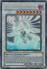 YUGIOH! Black-Winged Dragon TSHD-EN040 Ghost Rare 1st Edition
