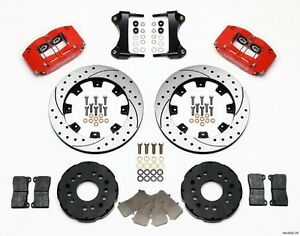 Wilwood Dynapro Radial Front Big Brake Kit,fits Mitsubishi Eclipse,4 Piston Cali