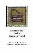 Musical Chair Series Piano Loveseat for Creative Needlework by Liz Turner Diehl
