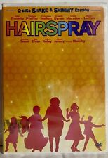 Hairspray (DVD, 2007, 2-Disc Set, Shake & Shimmy Edition) BRAND NEW SEALED