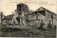 CPA   Ostel (Aisne) - Cháteau-Ferme d'Ostel - Castel of Ostel (201824)