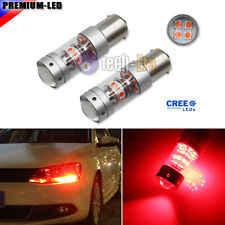 2 CAN-bus Red 140W 28-CREE LED Bulbs for Volkswagen MK6 Jetta Daytime DRL Lights