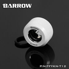 Barrow 'Choice' Hard Tube Compression Fitting for 12mm  Tubing - White - 239