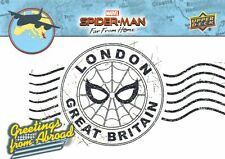 Spider-Man Far From Home Movie GREETINGS FROM ABROAD Trading Card Insert GFA-13