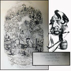 """George Cruikshank Signed Etching, """"The Triumph of Cupid"""" Inscribed to A Friend"""