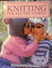 Knitting For All  the Family by Una Stubbs hardback book
