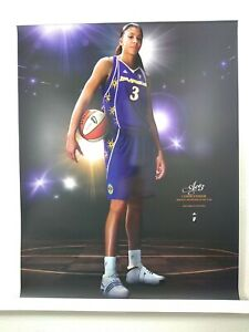 """Candace Parker Adidas Ace3  Promotional Poster (2 Sided) """"Impossible is nothing"""""""
